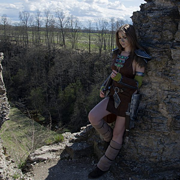 cosplay cosplaygirl tesv aela the huntress
