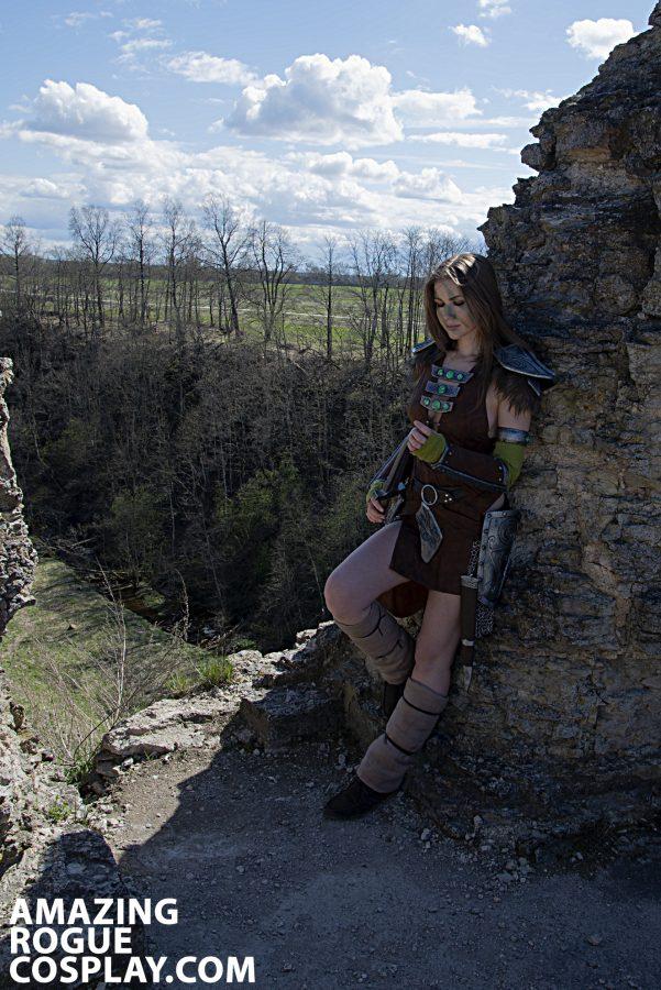 cosplay cosplaygirl tesv aela the huntress