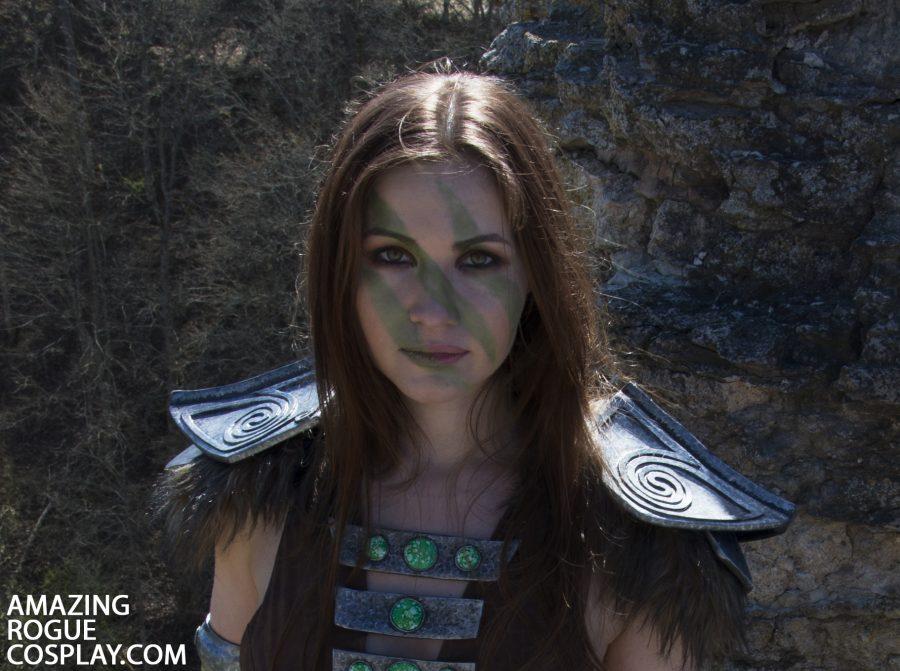 elder scrolls gamecosplay aela the huntress skyrim
