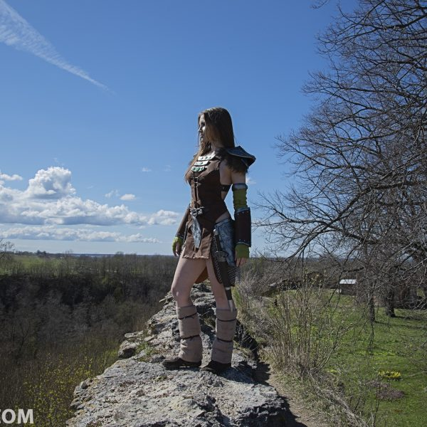 cosplay cosplaygirl tesv aela the huntress skyrim