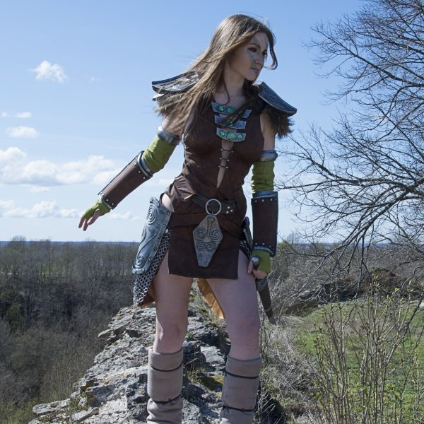 skyrim cosplay aela the huntress nord