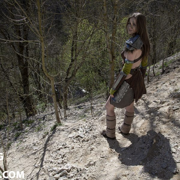 cosplay tesv aela the huntress nord
