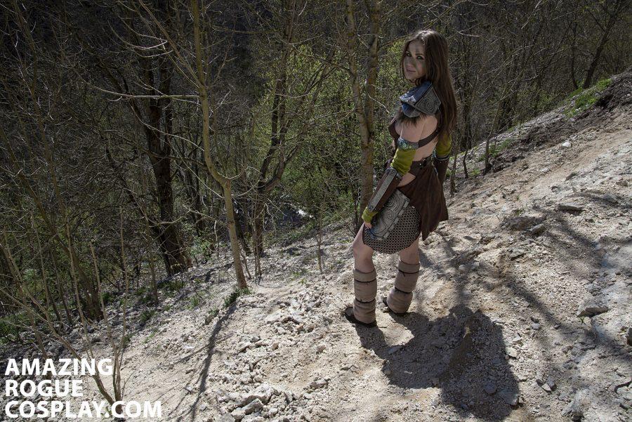 cosplay tesv aela the huntress nord