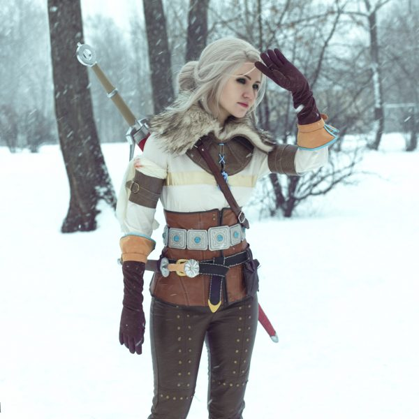 The Witcher 3 Ciri cosplay wild hunt
