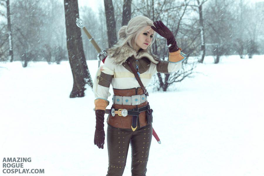 The Witcher 3 Ciri cosplay wild hunt