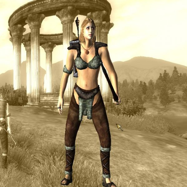 oblivion tes elder scrolls altmer high elf archer