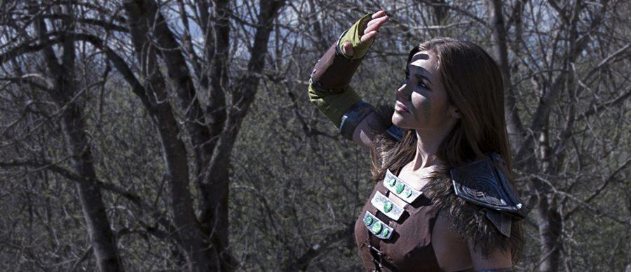 skyrim cosplay aela the huntress elder scrolls