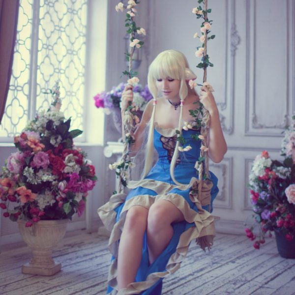 amazingrogue, cosplaygirl, chii, chobit, clamp, blond