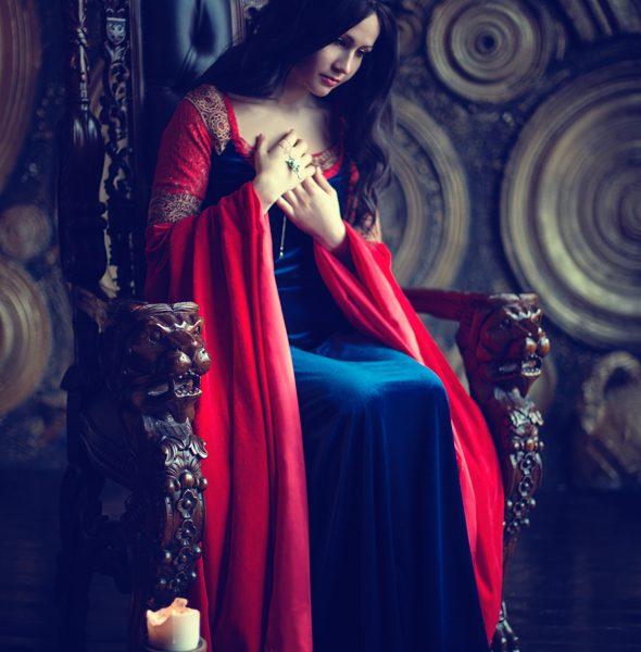 lotr, arwen, undomiel, elf, cosplaygirl, tolkien, throne