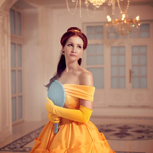Beauty and the Beast belle disney cosplaygirl ball gown