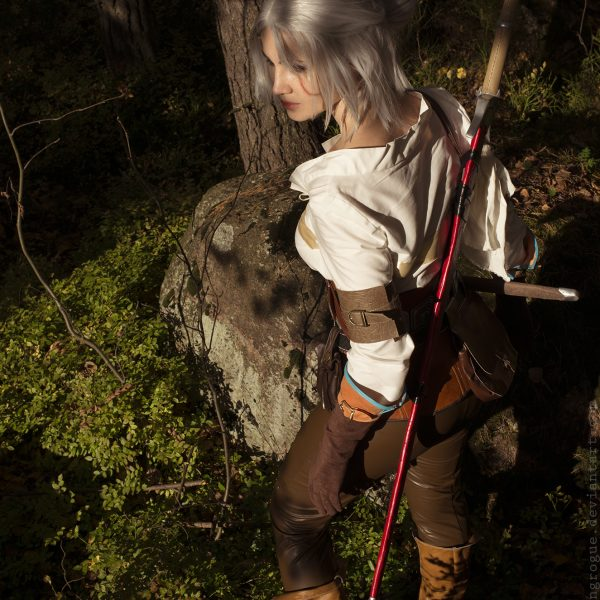 ciri cirilla the witcher 3 wild hunt cosplay