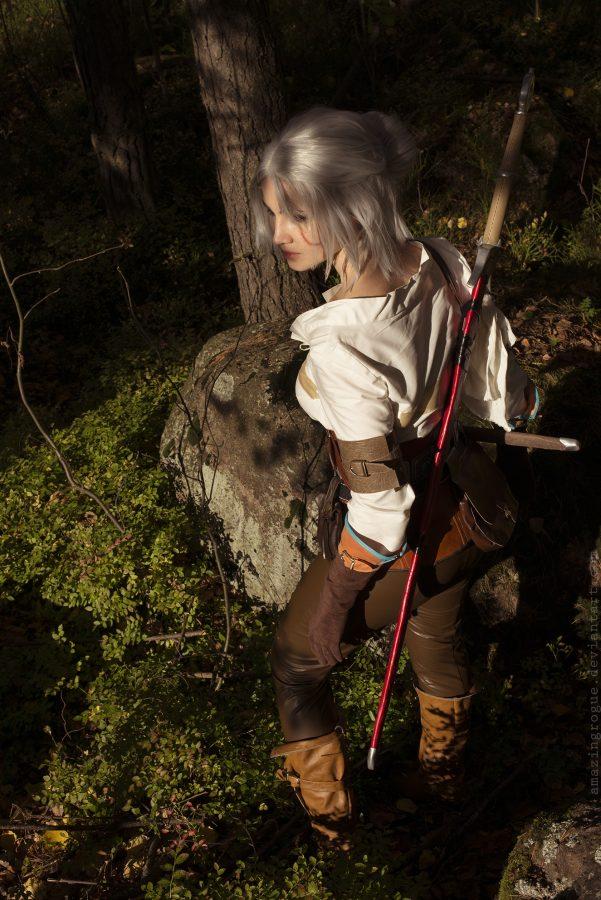 ciri cirilla the witcher 3 wild hunt cosplay