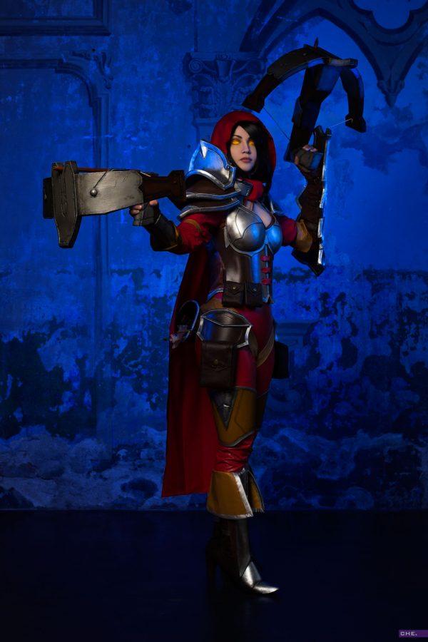 blizzard diablo demon hunter heroes of the storm cosplay hots