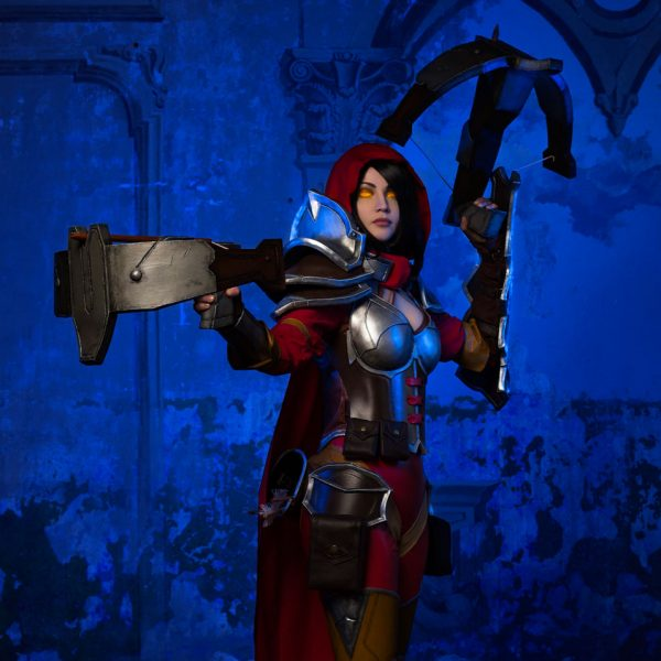 blizzard diablo demon hunter heroes of the storm cosplay hots