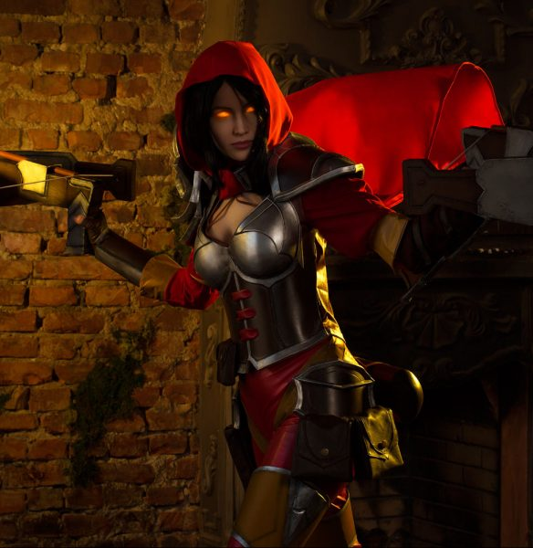 valla crossbow demon hunter heroes of the storm cosplay