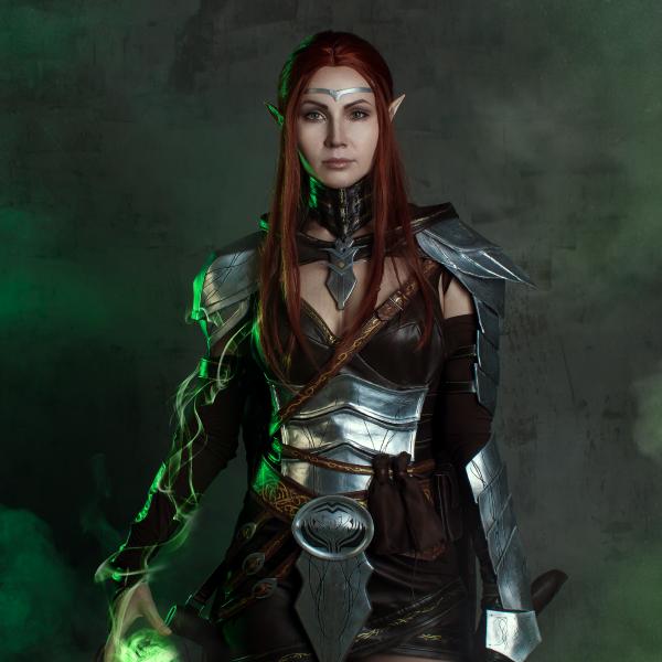 tes, elder scrolls online, bethesda, cosplay, elf