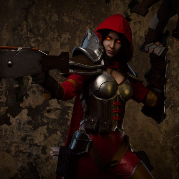 valla diablo demon hunter heroes of the storm cosplaygirl