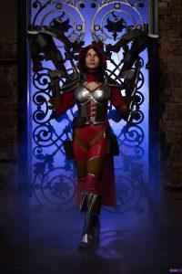 hots diablo demon hunter heroes of the storm cosplay