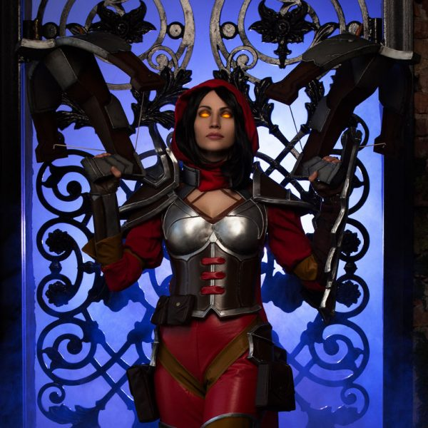 hots diablo demon hunter heroes of the storm cosplay