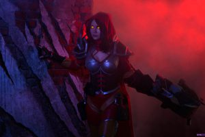 valla diablo demon hunter heroes of the storm cosplay
