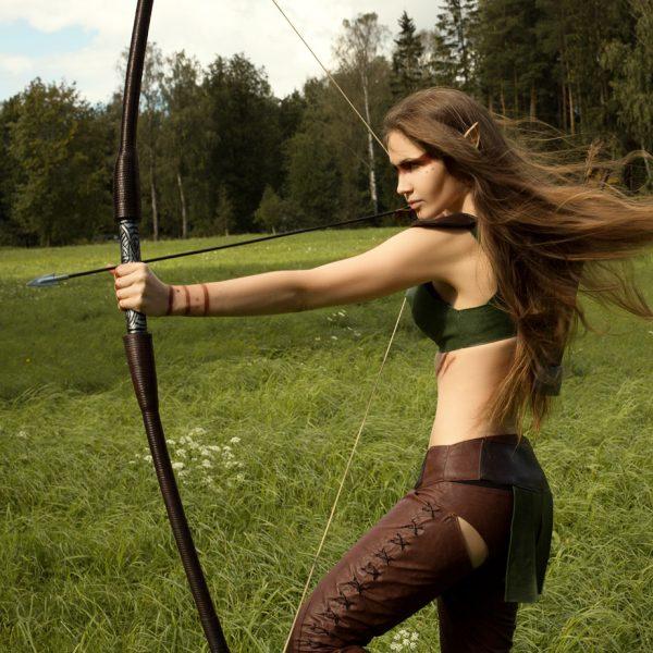 oblivion tes elder scrolls altmer bow elf archer