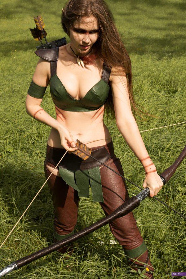 oblivion tes elder scrolls altmer cosplay elf archer