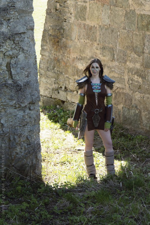 cosplay cosplaygirl tesv aela the huntress bethesda nord