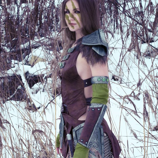 cosplay cosplaygirl tesv aela the huntress amazingrogue nord