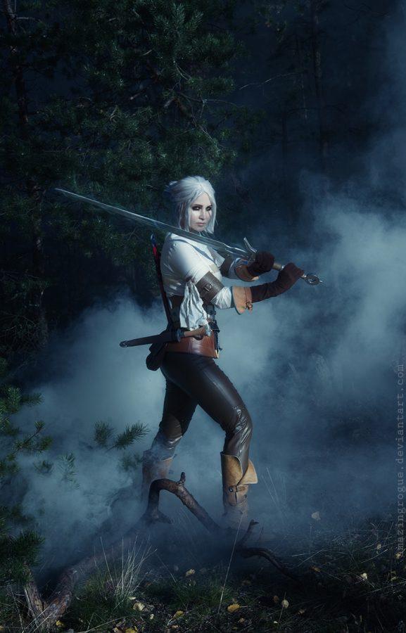 ciri cirilla the witcher 3 wild hunt cosplay girl