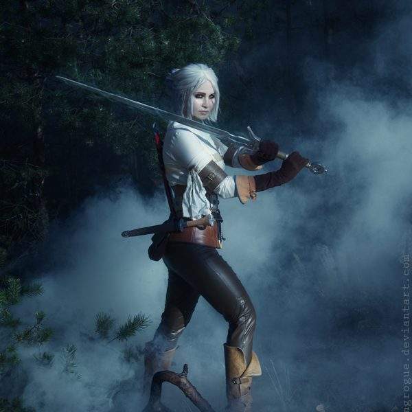 ciri cirilla the witcher 3 wild hunt cosplay girl