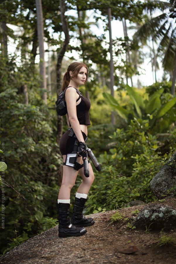 lara croft, tomb raider, cosplay, jungle, gamecosplay, adventure