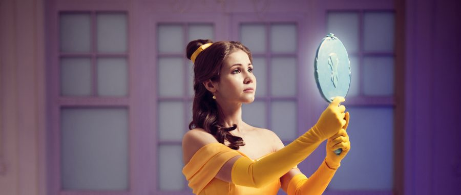 belle mirror disney cosplaywip