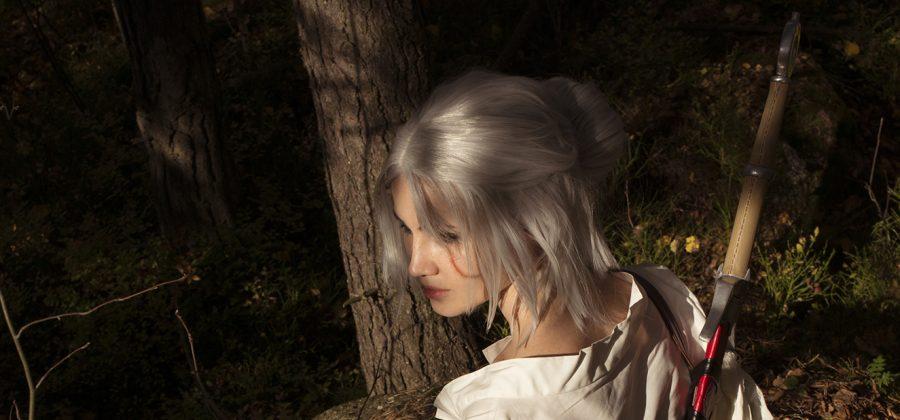 ciri cosplayprocess sword witcher