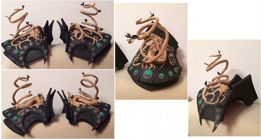 ysera pauldrons craft tutor cosplay warcraft dragon