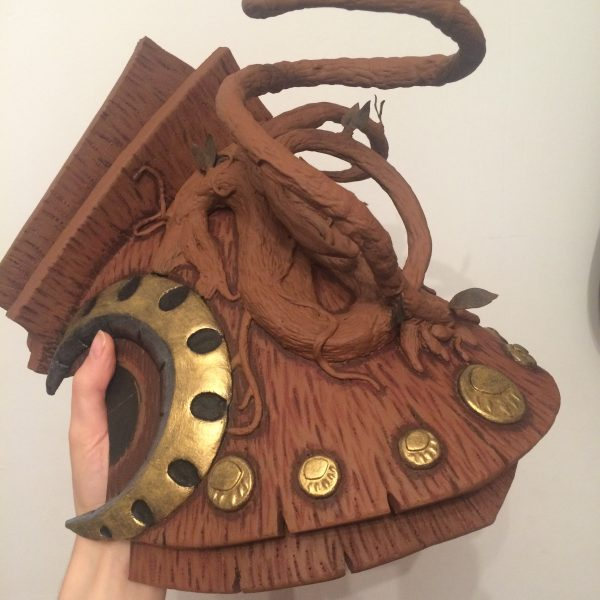 tutor pauldrons cosplay armor craft ysera warcraft props