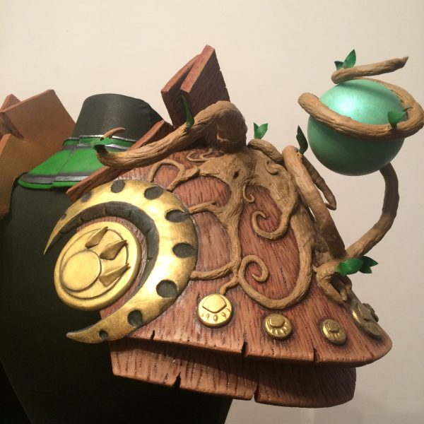 tutor pauldrons armor craft ysera warcraft handmade