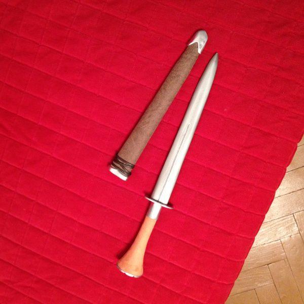 cirilla witcher wild hunt tutor props craft cosplay dagger