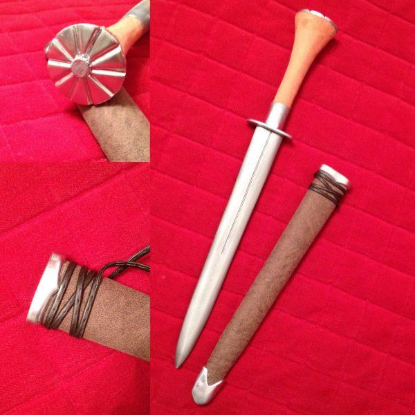 ciri witcher wild hunt tutor props craft cosplay dagger amazingrogue