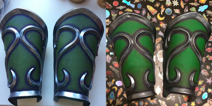 warcraft wow ysera dragon armor tutorial craft paint