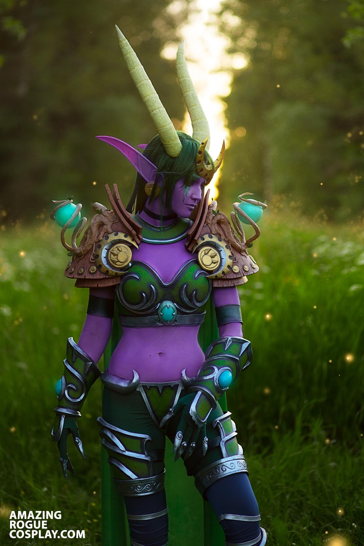 world of warcraft cosplay ysera night elf dragon