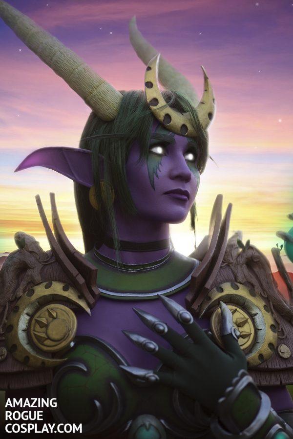 ysera warcraft night elf dragon cosplay