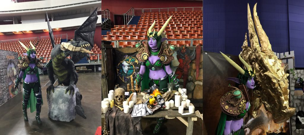 ysera cosplay warcraft tutorial