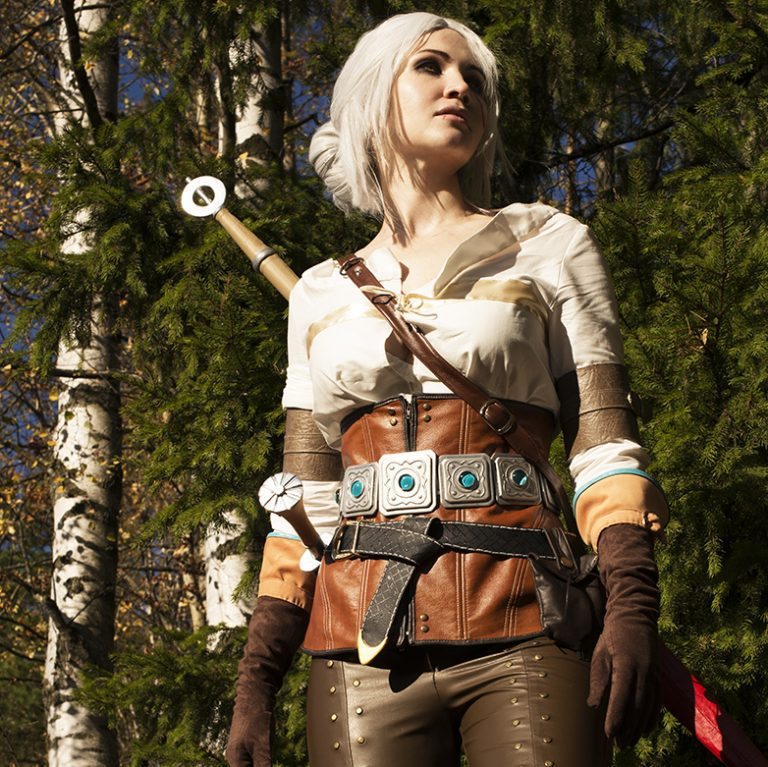 The Witcher 3. Ciri's costume creation. Part 1