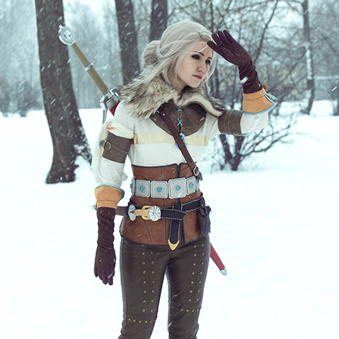 The Witcher 3. Ciri's costume creation. Part 2