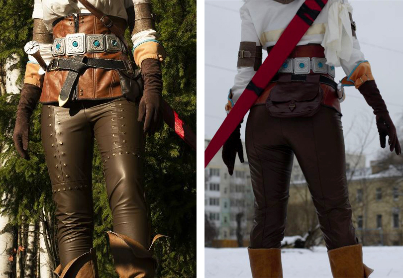 Ciri pants tutorial