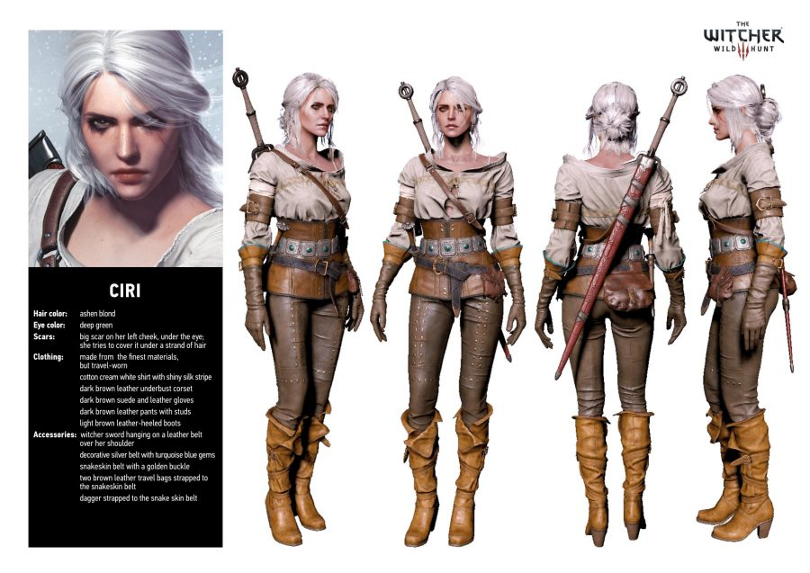 ciri cosplay witcher tutorial