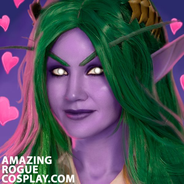 Tyrande Cosplay Portrait Heroes of The Storm Warcraft