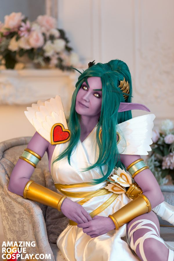 Tyrande Cosplay warcraft heroes of the storm