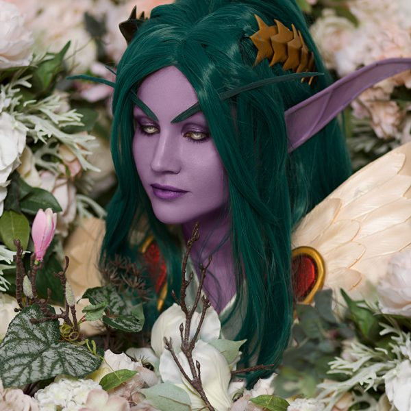 Tyrande cosplay heroes of the storm world of warcraft