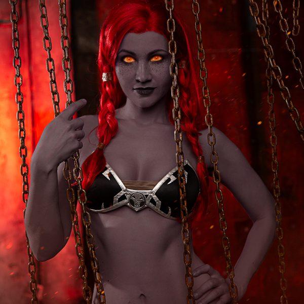 World of Warcraft cosplay Dark Iron Dwarf